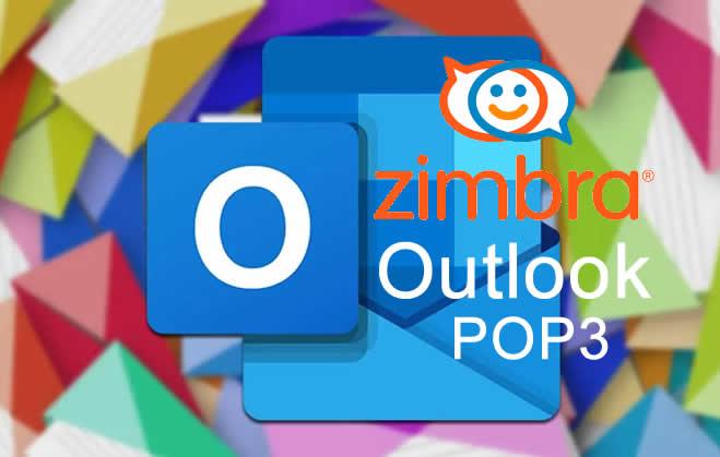 Zimbra Outlook POP3